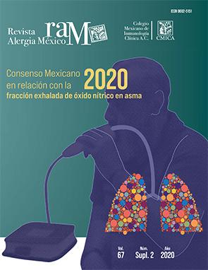 Ver Vol. 67 (2020): Suplemento 2: Consenso mexicano en relación con la fracción exhalada de óxido nítrico en asma, 2020